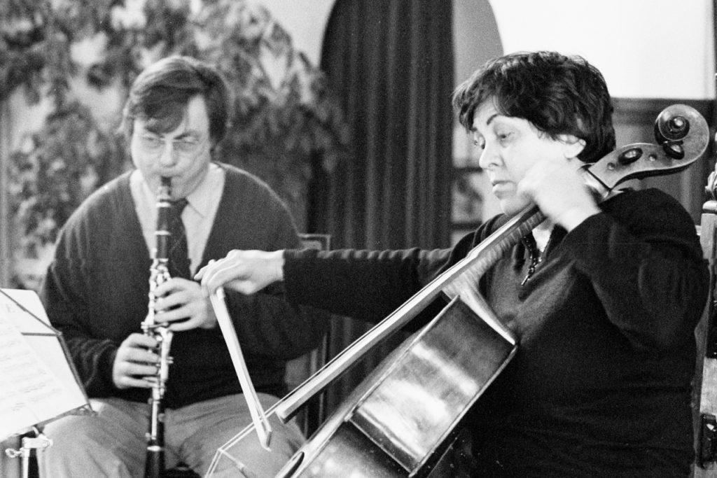 Eduard Brunner und Natalia Gutman