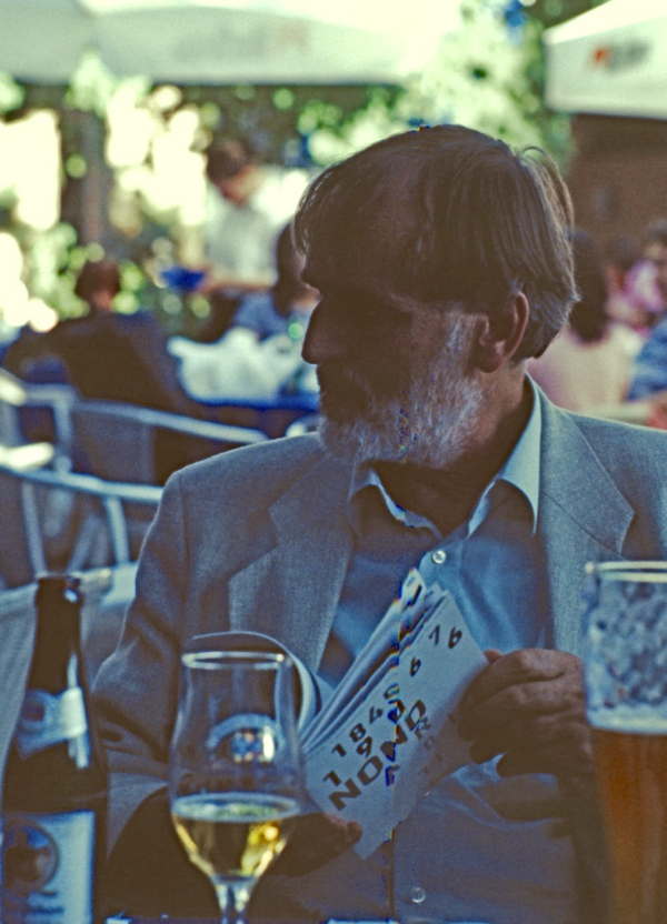 Helmut Lachenmann in München