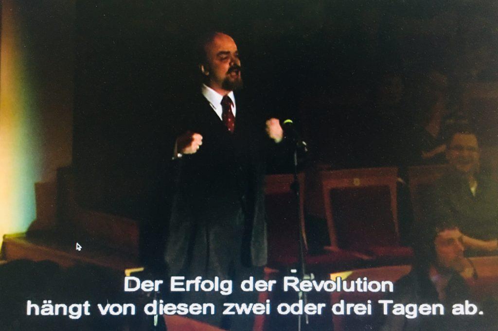Auftritt Lenin