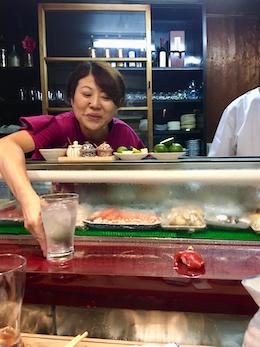 Sushi-Bar in Takefu