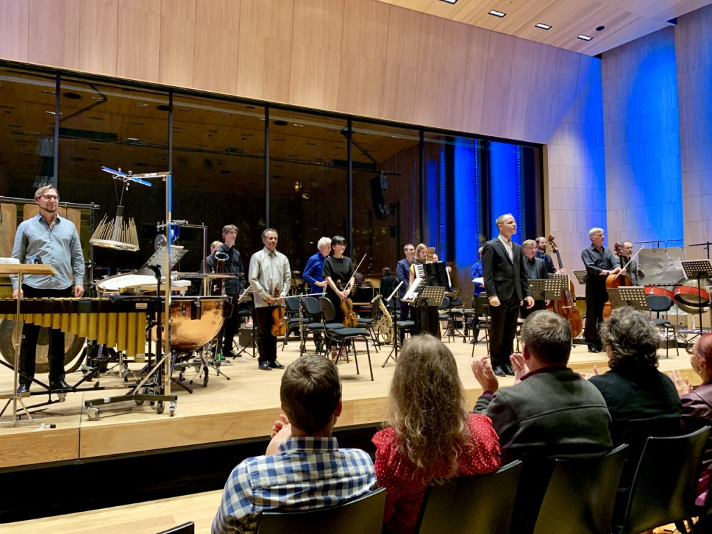 Ensemble Modern bei den Klangspuren Schwaz 2019