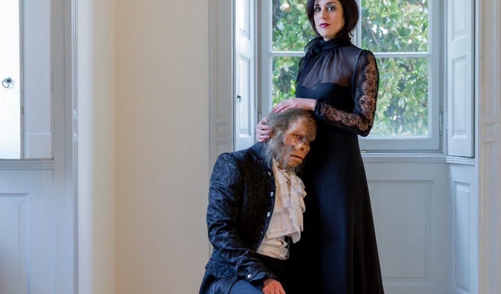 """Graf Cenci und Beatrice, die Hauptfiguren in der Oper """"I Cenci"""" von Giorgio Battistelli"""