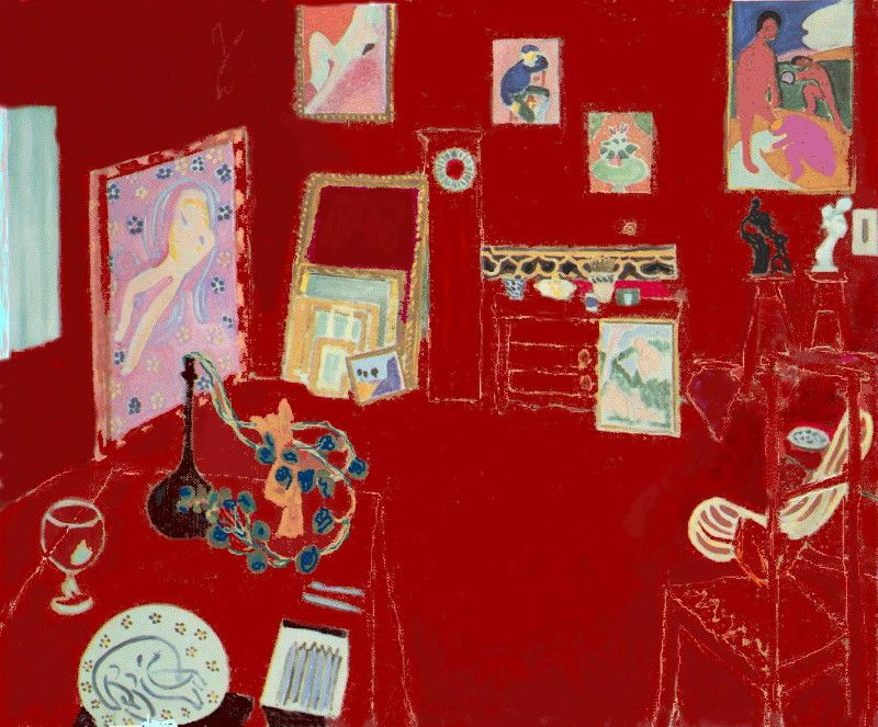 "Henri Matisse: ""L'atelier rouge"""