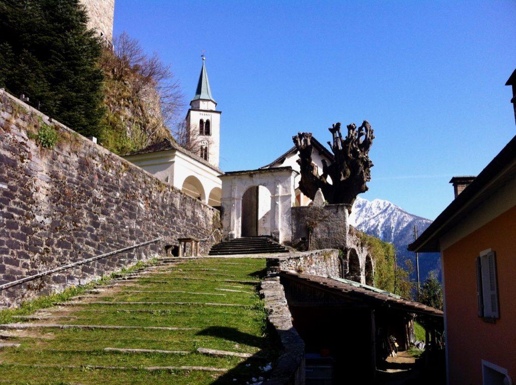 Calancatal Val Calanca Santa Maria Kirche