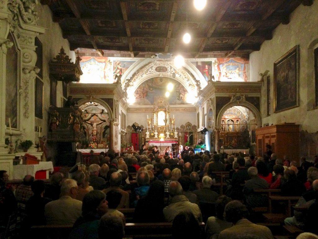 Konzert in der Kirche Santa Maria Val Calanca Calancatal
