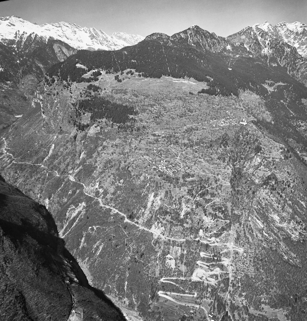 Val Calanca Calancatal und Santa Maria