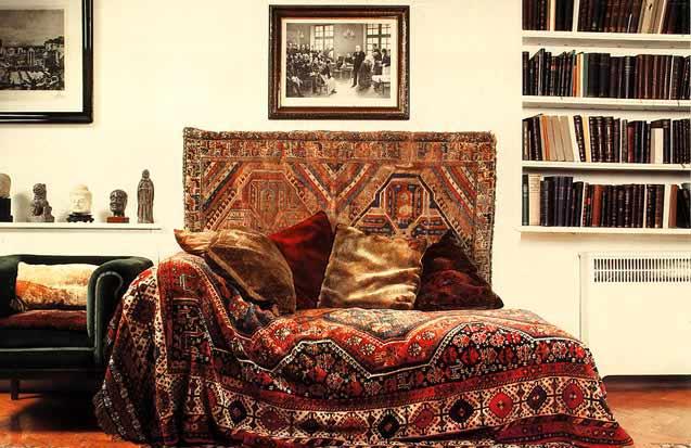 Couch von Sigmund Freud